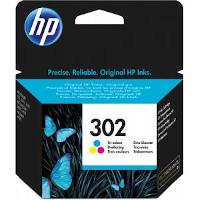 Cartucce HP 302 inchiostro colore originali - F6U65AE
