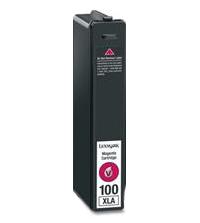 Cartuccia Lexmark 100XL MAGENTA - 12 ml