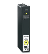 Cartuccia Lexmark 100XL GIALLO - 12 ml