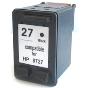 Cartuccia rigenerata HP n.27 NERO - 20 ml