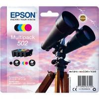 Multipack 4 cartucce Epson 502 originale Serie Binocolo