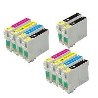 Multipack 10 cartucce compatibili Epson T0711-T0714
