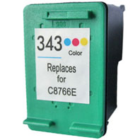 Cartuccia rigenerata HP 343 COLORE - 18 ml